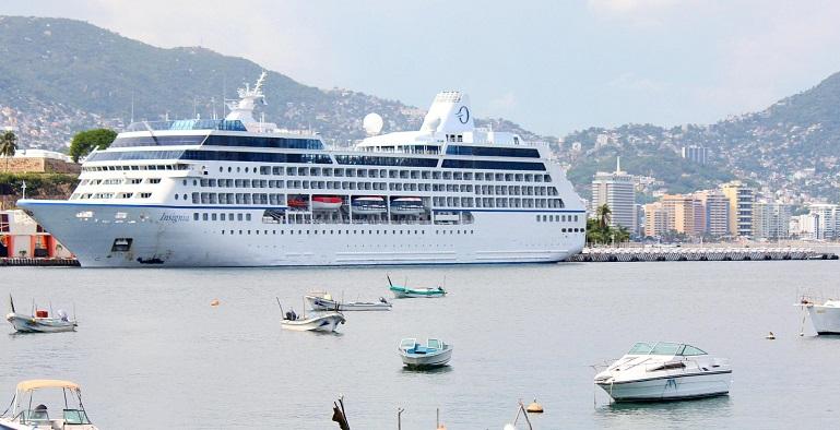 Astudillo busca afianzar arribo de cruceros