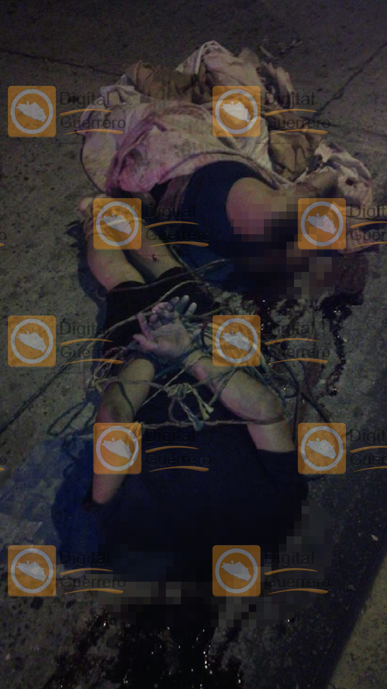 Acapulco hombre y una mujer decapitados 1