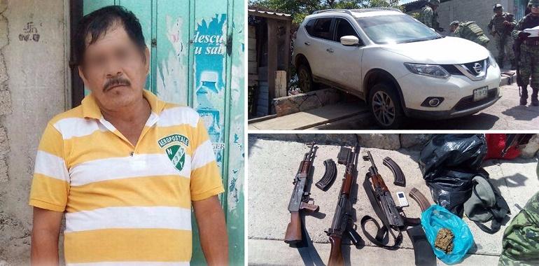 Policía Estatal y Ejército Mexicano aseguran en Zihuatanejo