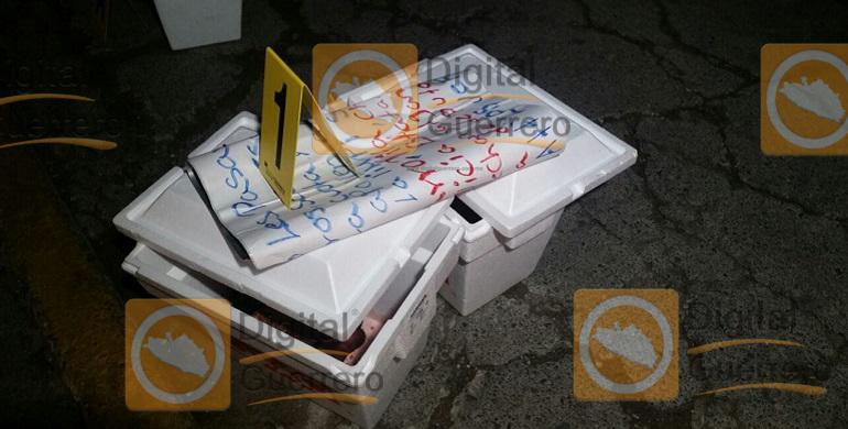 Dejan restos humanos cerca del Palacio de Gobierno y de Cuartel Militar, en Chilpancingo 1