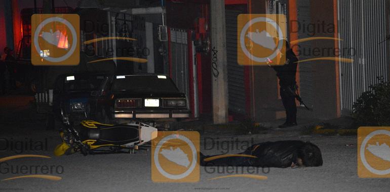Dos hombres muertos en la colonia CNOP, de Chilpancingo