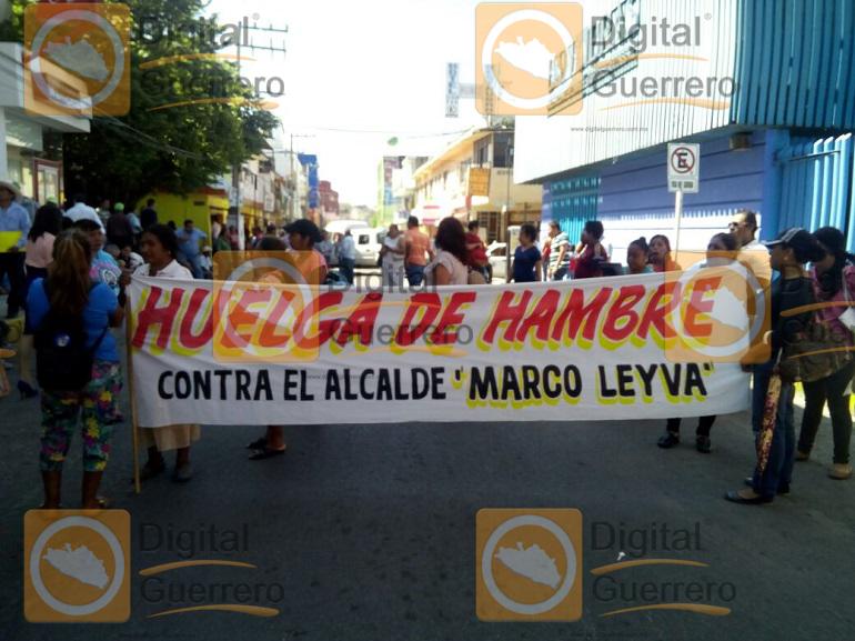 Huelga de Hambre, líder sindical de Chilpancingo 2