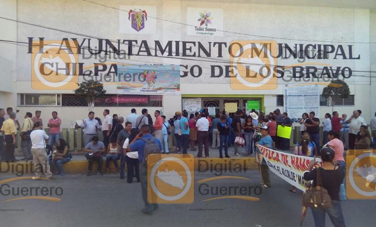 Huelga de Hambre, líder sindical de Chilpancingo 3