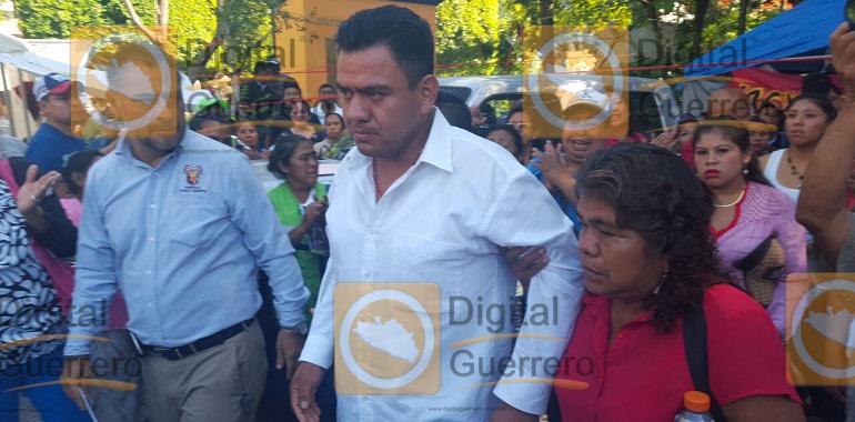 Huelga de Hambre, líder sindical de Chilpancingo