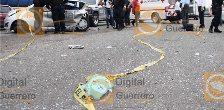 Muere una mujer de Guerrero y su bebé, en trágico choque en Sinaloa 2