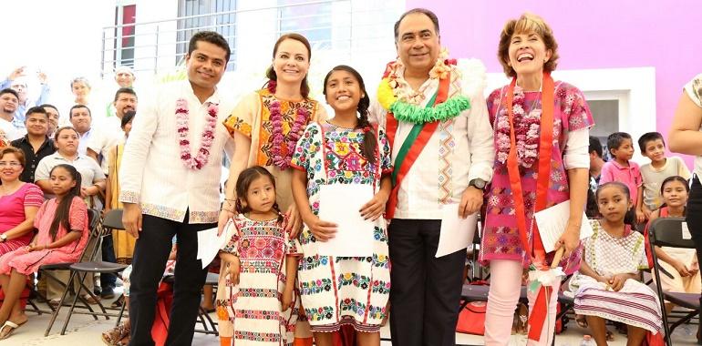 Niñas y niños de Ometepec se benefician con la Casa del Niño Indígena