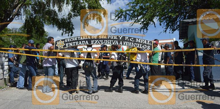 Sin armas y patrullas, Policías Rurales vigilan los pueblos de Chilpancingo