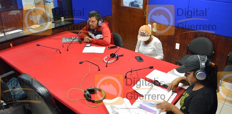 Toma CETEG radiodifusoras en Chilpancingo