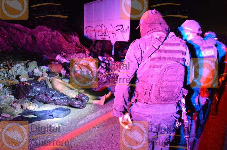 Abandonan los cuerpos de tres hombres en un basurero de Chilpancingo 1