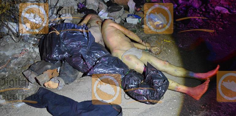 Abandonan los cuerpos de tres hombres en un basurero de Chilpancingo