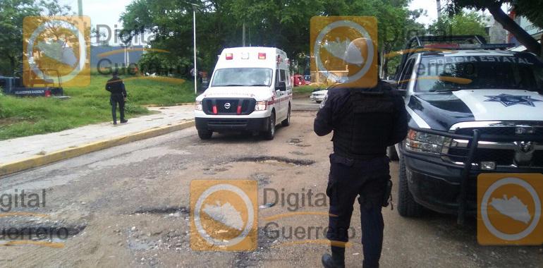 Enfrentamiento entre Policía Estatal y civiles en Acapulco; tres detenidos