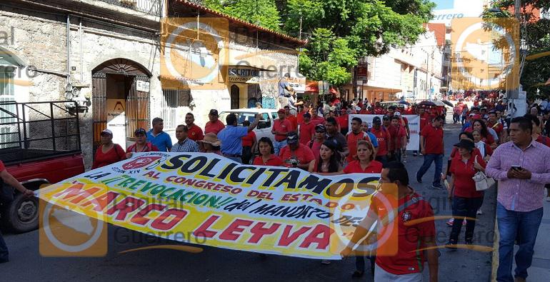 marcha_bloqueo_suspeg_cchilpancingo