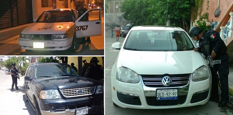 policias-estatales-acapulco-y-zihuatanejo-aseguraron-vehiculos-con-reporte-de-robo