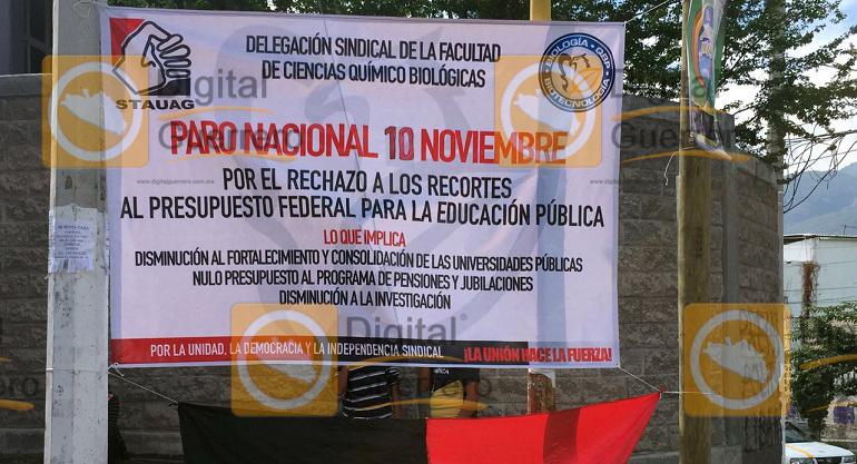 protesta_recorte_presupuesto_uagro