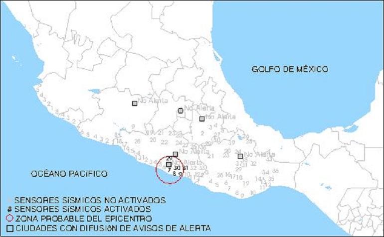 Sismos provocan alarma en Acapulco