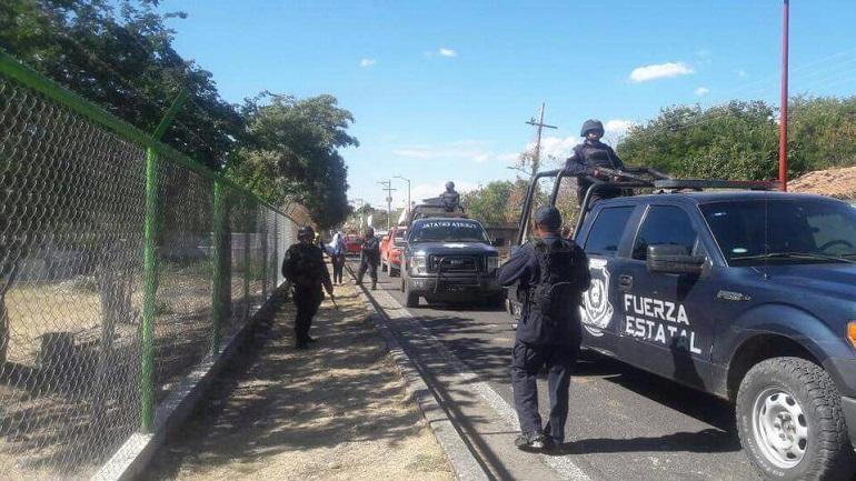 Encuentran a cinco cadáveres baleados en el sur de México