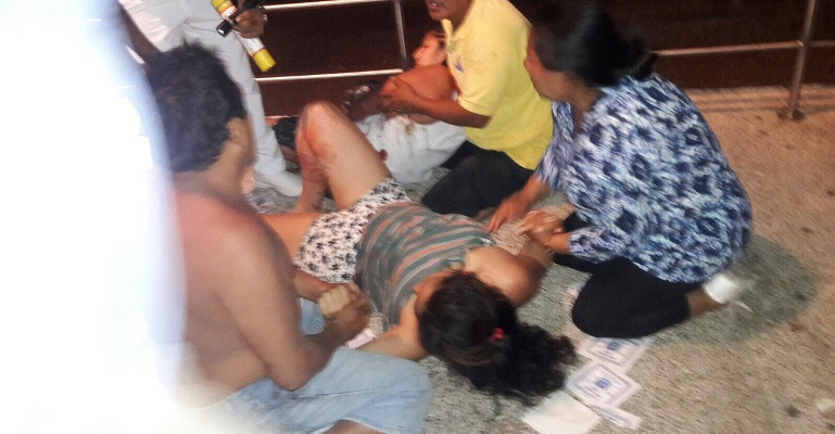 Un muerto y 7 heridos deja tiroteo en avenida Costera de Acapulco