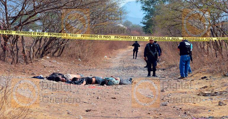 Violencia azota a Guerrero, estrangulan a cuatro