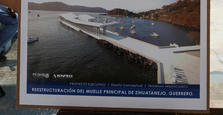 Resultado de imagen para fotos nuevo muelle de zihuatanejo