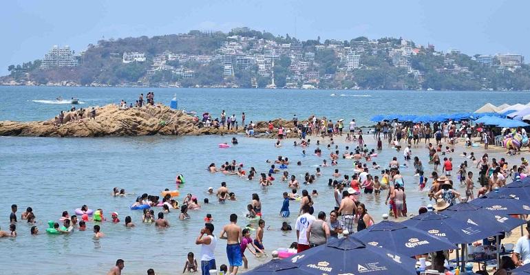 Registran destinos turísticos de Guerrero 60 por ciento de ocupación