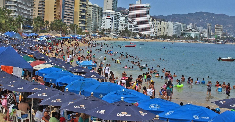 Reporta Guerrero 84.5 por ciento de ocupación hotelera durante vacaciones