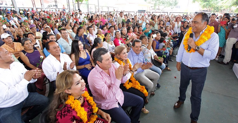 Anuncian rehabilitación de 99 escuelas de Chilpancingo