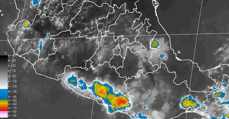 Intensas tormentas en Oaxaca, Chiapas y Tabasco