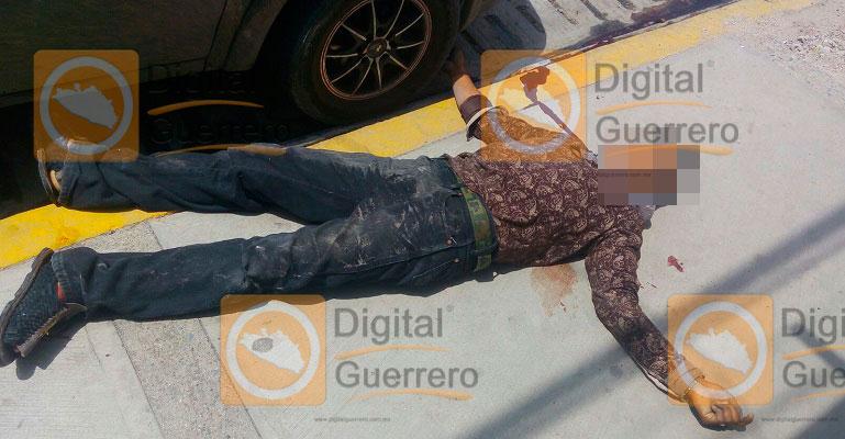 Enfrentamiento deja 2 muertos en Tixtla