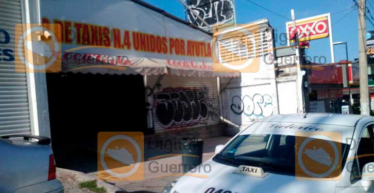 #Video Matan a taxista en Acapulco