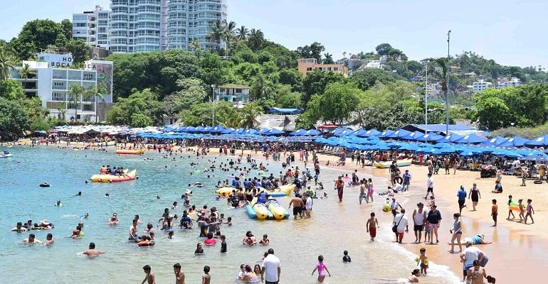 Guerrero reporta 50% de ocupación hotelera