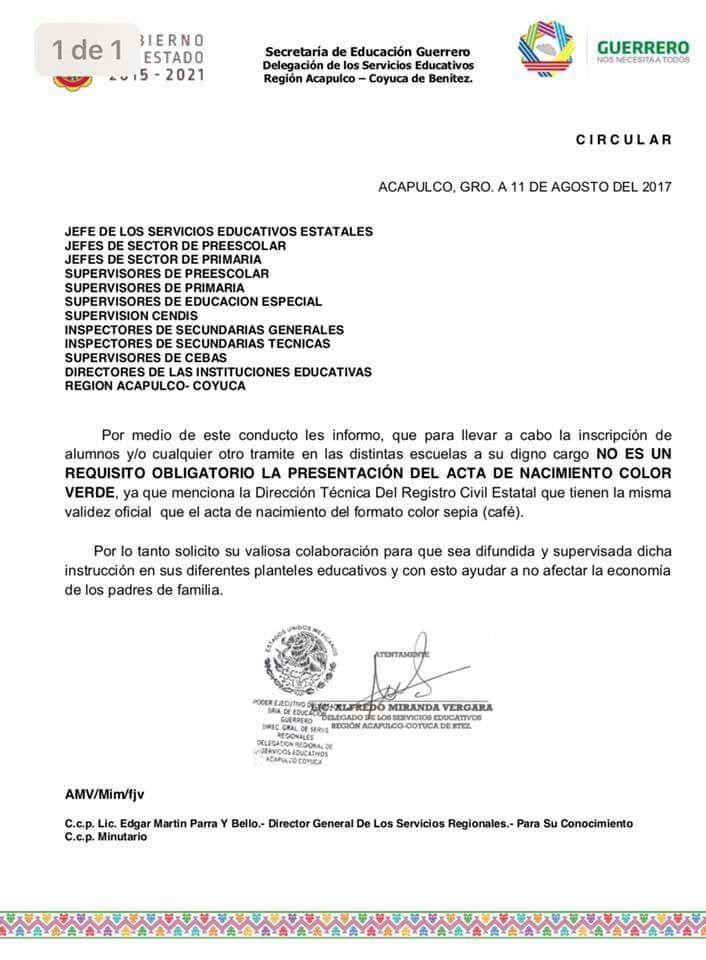 Digital Guerrero Registro Civil De Acapulco Aclara Que Las