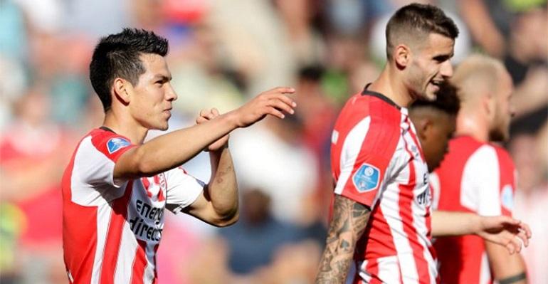 PSV le gana al Roda; 'Chucky' Lozano anota el segundo gol