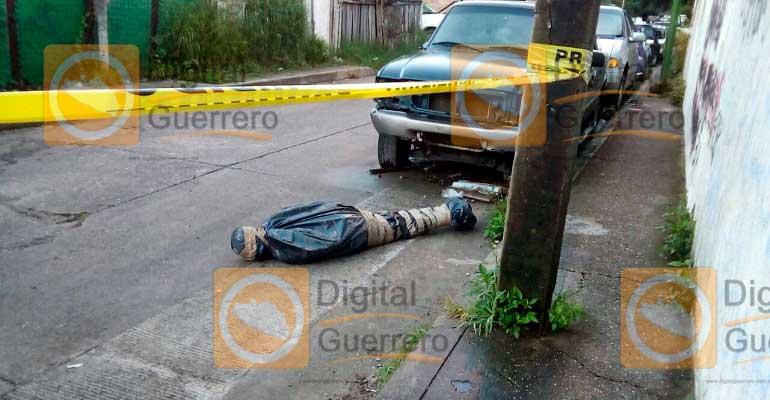 Abandonan cuerpo cerca de la Fiscalía del Estado