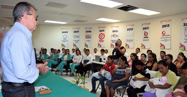 Guerrero destaca a nivel nacional por programa de Lactancia Materna, informa secretaria de salud