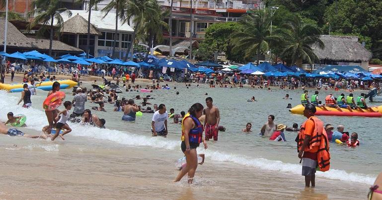 Destinos turísticos de Guerrero registran 84% de ocupación