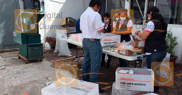 Repondrá INE credenciales perdidas durante los sismos