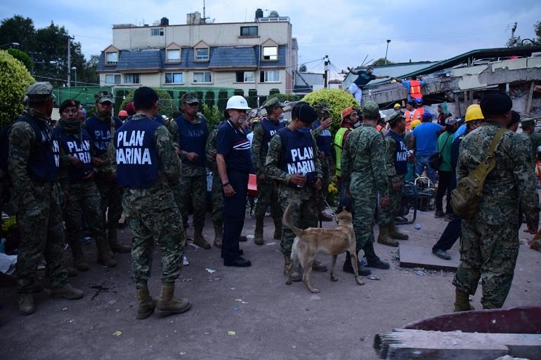 La Marina informa que se han rescatado a 115 personas con vida
