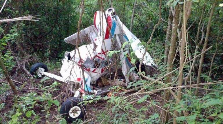 Encuentra avioneta desaparecida, ¿y los pilotos?
