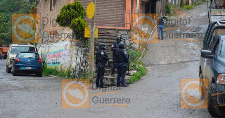 Deja 3 muertos otro enfrentamiento en Guerrero; suman 11 fallecidos