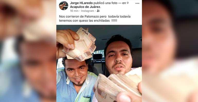 Presumía dinero y lo echan del gobierno de Acapulco