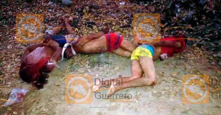 Localizan 10 cuerpos en Guerrero