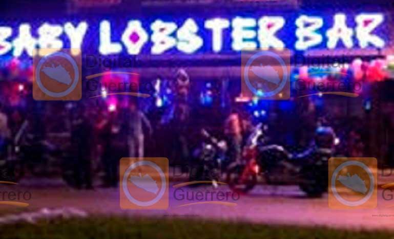Muere turista tras balacera en bar de Acapulco