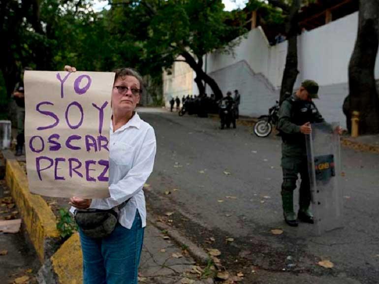 'Célula terrorista de Óscar Pérez planeaba asesinar a Maduro'