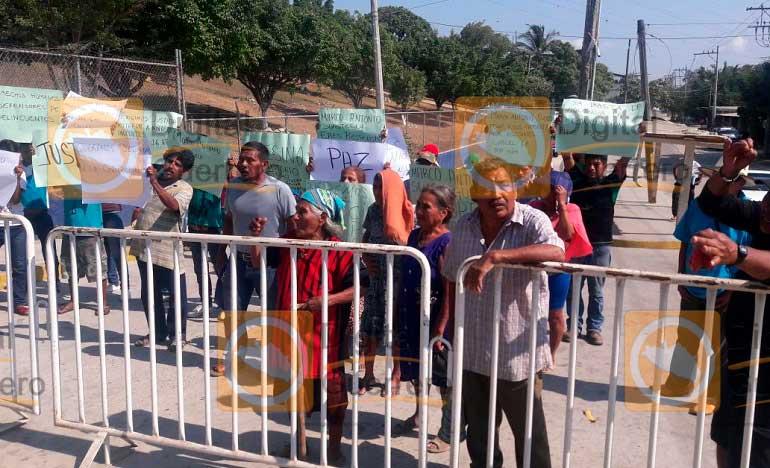 Enfrentarán al líder del Cecop si es liberado, amenazan pobladores