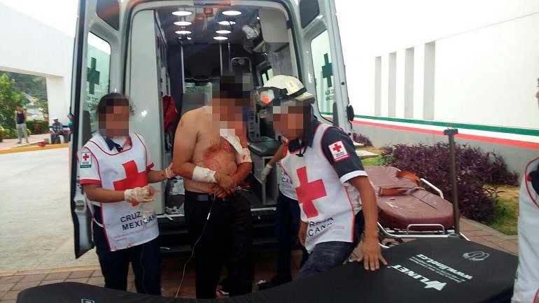 Investigan agresión armada contra siete personas en Acapulco