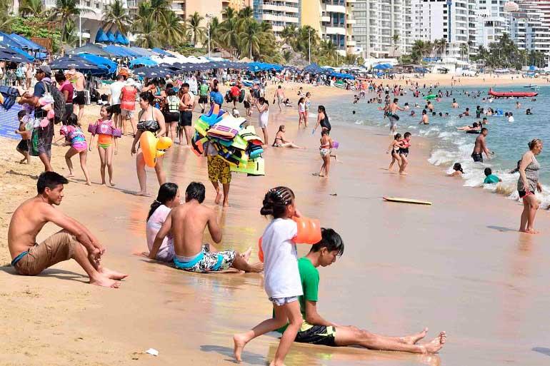 Reporta la zona Dorada de Acapulco 88.6% de ocupación hotelera