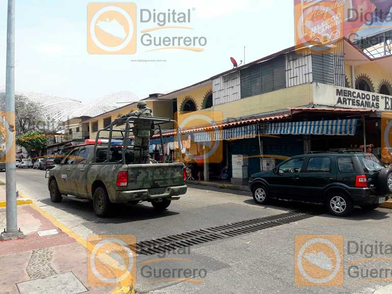 Digital guerrero disparan frente a oficinas de la for Oficina del policia